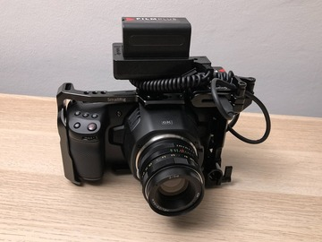 Udlejer: Blackmagic Pocket 6K m. Helios 44M 58mm f2